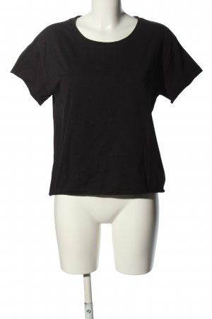 Zara T-Shirt black casual look
