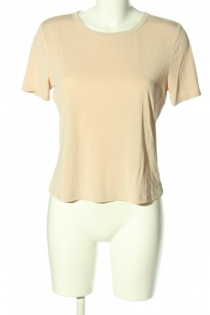 Zara T-Shirt creme Casual-Look