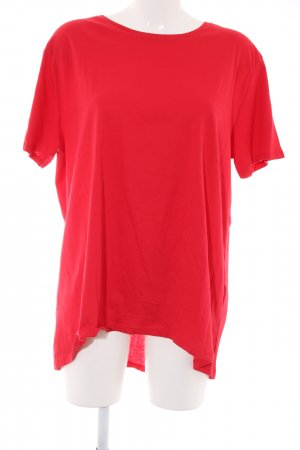 Zara T-Shirt rot Casual-Look