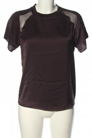 Zara T-Shirt lila Casual-Look