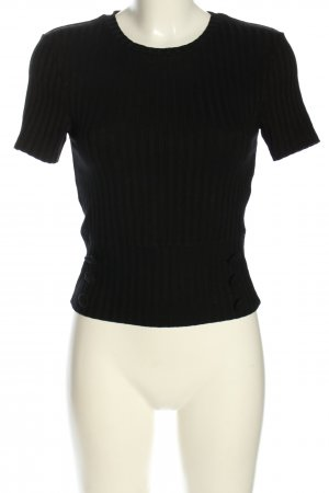 Zara T-shirt nero stile casual