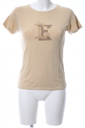 Zara T-Shirt nude Casual-Look