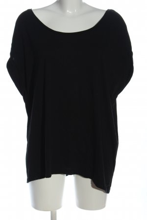 Zara T-Shirt schwarz Casual-Look