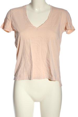 Zara T-Shirt creme Casual-Look
