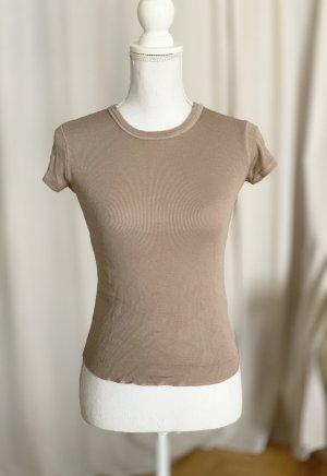 ZARA T-Shirt altrosa braun rosa XS 34 S 36