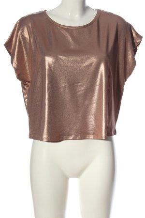 Zara T-Shirt goldfarben Elegant