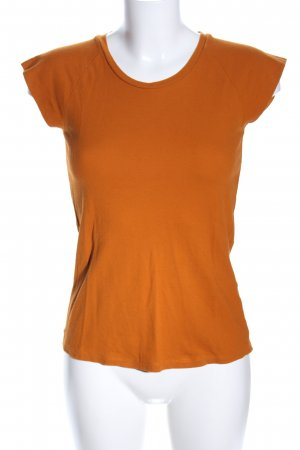 Zara T-Shirt hellorange Casual-Look