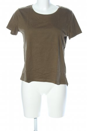 Zara T-Shirt braun Casual-Look