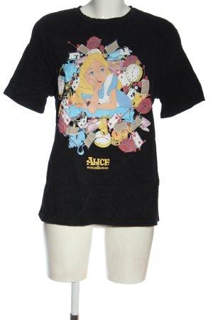 Zara T-Shirt Motivdruck Elegant
