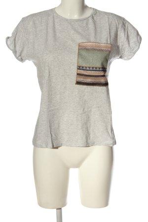 Zara T-Shirt meliert Casual-Look