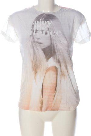 Zara T-Shirt Farbverlauf Casual-Look