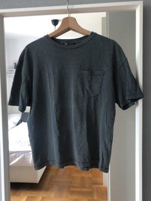 ZARA T-Shirt grau