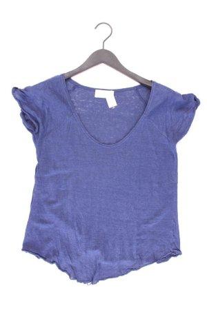 Zara T-Shirt Größe M Kurzarm blau