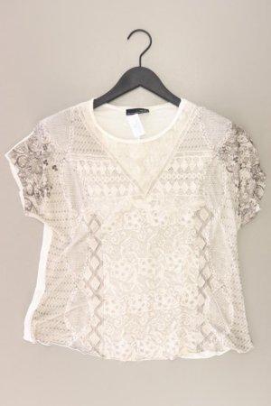 Zara T-Shirt Größe M Kurzarm creme