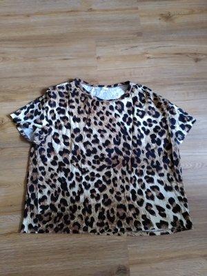 Zara T-Shirt Leoprint