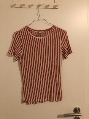 Zara T-Shirt mit Längststreifen