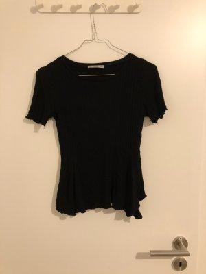 Zara T-Shirt mit leichtem Schößchen A-Linie