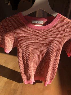Zara T-shirt mit Muster