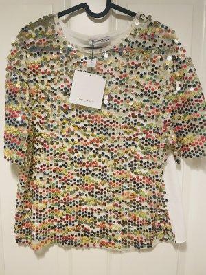 Zara T shirt mit Pailletten