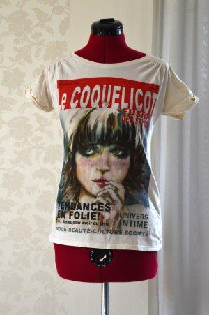 Zara T-shirt mit Print