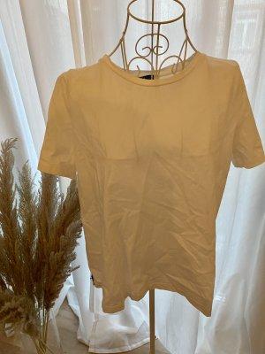 Zara T-Shirt mit Tüll-Rückseite