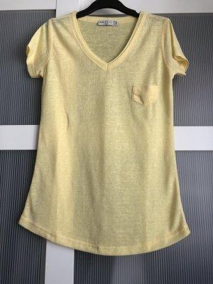 Zara T-Shirt S gelb