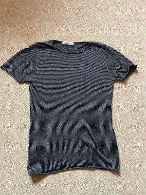 Zara T-Shirt schwarz/weiß Gr.S