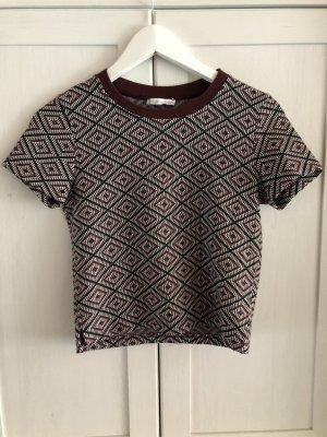 Zara T-Shirt Shirt Muster S 36