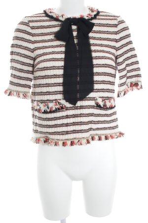 Zara T-Shirt Streifenmuster Casual-Look