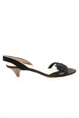 Zara Slingback pumps zwart casual uitstraling