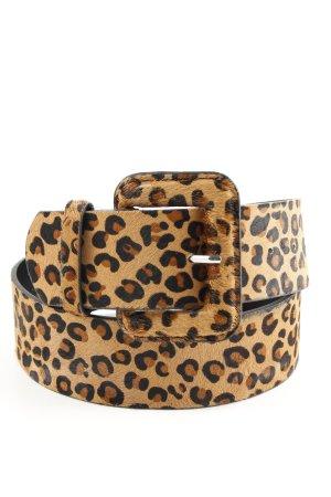 Zara Cinturón pélvico marrón-negro elegante