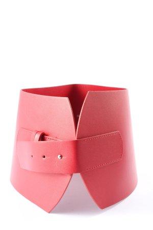 Zara Waist Belt red casual look