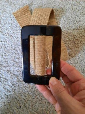 Zara Waist Belt gold-colored-black brown mixture fibre