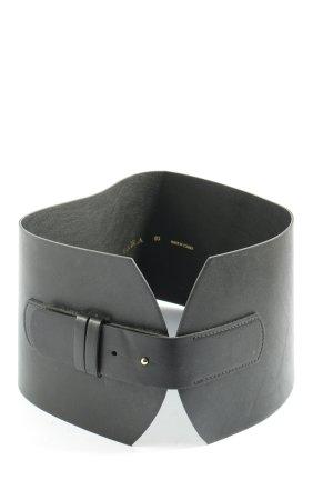 Zara Cinturón pélvico negro estilo extravagante