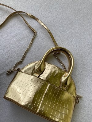 Zara Mini Bag gold-colored