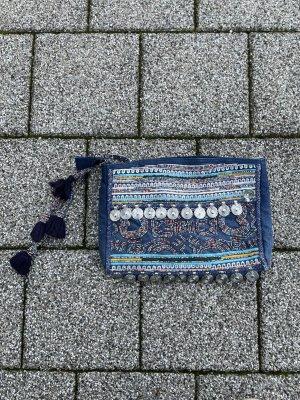 Zara Tasche blau Orient Umhängetasche