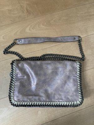 Zara Shoulder Bag rose-gold-coloured-grey brown
