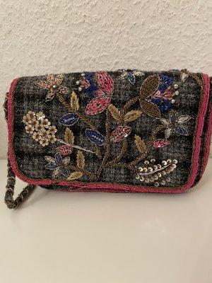 ZARA Tasche mit Bestickungen