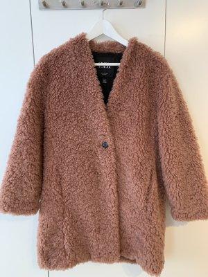 Zara Teddy flauschige Mantel