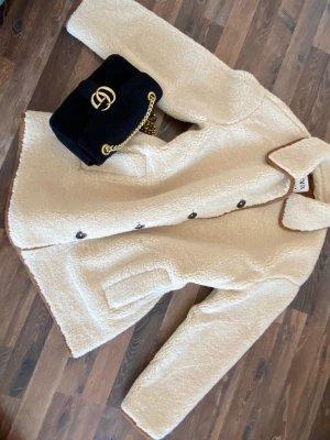 Zara Short Coat oatmeal-cream