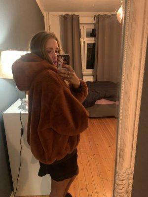 Zara Teddyjacke/Bomberjacke drehbar