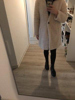 Trf by Zara Manteau en laine crème