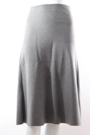 Zara Cirkelrok grijs Polyester