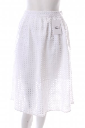 Zara Cirkelrok wit klassieke stijl