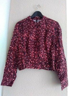 Zara TFR hübsche Hemdbluse aus Viskose, Größe M oversize, neu