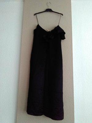 Zara TFR hübsches Trägerkleid mit Volant in schwarz, Größe S, neu