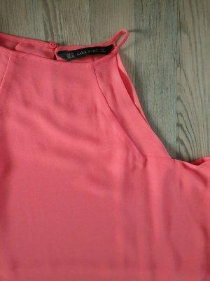 Zara Top linea A rosa