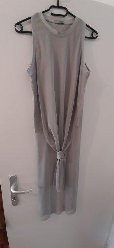 Zara Lange top zilver-lichtgrijs