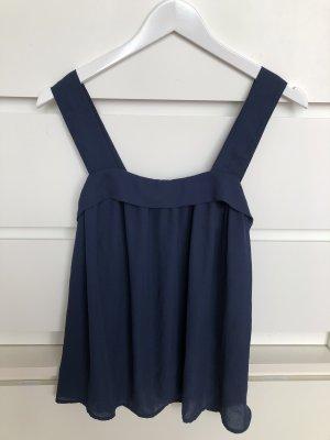 Zara Top / Bluse in blau S neu