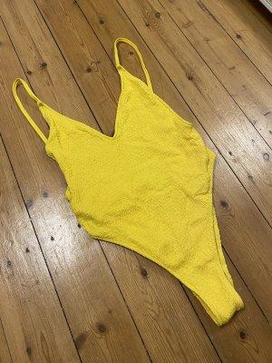 Zara Swimsuit yellow